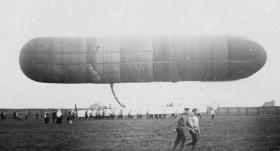 «УЧЕБНЫЙ» - первый русский дирижабль
