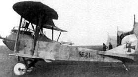 Lloyd C.V  (вспомогательный самолет Ллойд С.V)