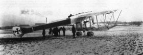 Gotha G I ( бомбардировщик Гота G I )