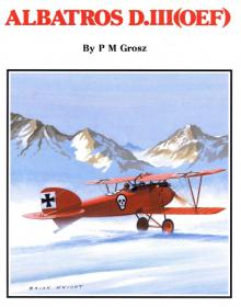 Albatros D.III история и чертежи самолета (Windsock Datafile 19 by P.M.Grosz)