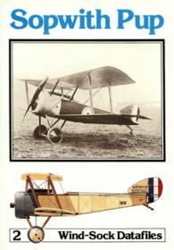 Sopwith Pup чертежи и история самолёта (Windsock Datafile 2 by P.M.Grosz)