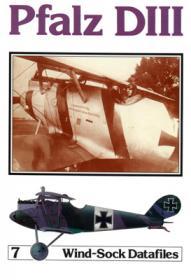 Pfalz D.III чертежи самолета (Windsock Datafile 7 by P.M.Grosz)