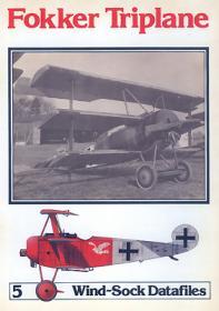 Fokker Triplane чертежи самолёта (Windsock Datafile 5 by P.M.Grosz)