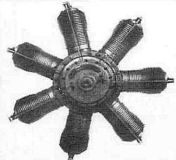 Ротативный авиадвигатель «ГНОМ» (GNOME)