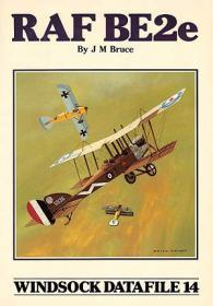 RAF BE2e чертежи самолета (Windsock Datafile 14 by J. M. Bruce)