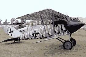 Fokker D.III истребитель, разведчик Фоккер D.III