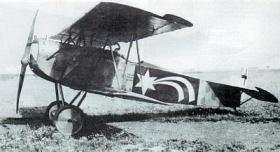 Fokker D.VII фронтовой истребитель Фоккер D.VII