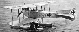 Friedrichshafen FF.33 гидросамолет (Фридрихсхафен FF.33)