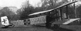 Фридрихсхафен G.III - бомбардировщик Friedrichshafen G.III