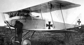 Хальберштадт D.II - фронтовой истребитель Halberstadt D.II