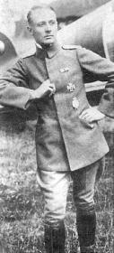 ROTH, Fridriech Ritter von (Рёт, Фридрих Риттер фон) - самый результативный истребитель аэростатов