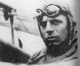 Бёльке в кабине своего истребителя Albatros D I.
