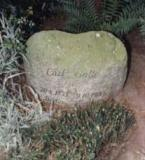 Надгробный камень на могиле Карла Болле