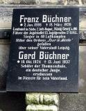 Надгробная плита на могиле Бюхнера