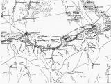 Карта района станицы Вешенской и окрестностей