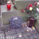 Табличка с датами жизни Отто Бернерта в фамильном захоронении
