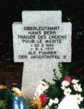 Могила Ганса Берра в Потсдаме
