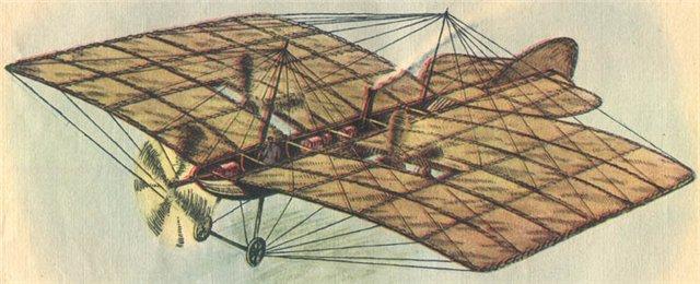 Самолет можайского а ф длина м 25